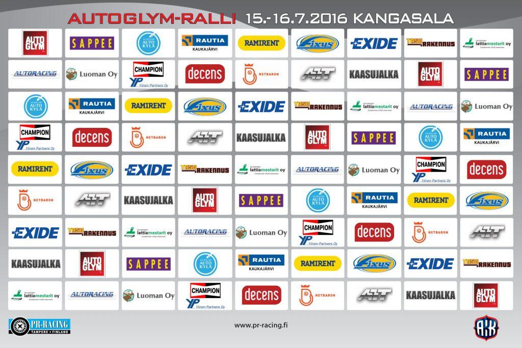 Autoglym Ralli 2016 sponsorit